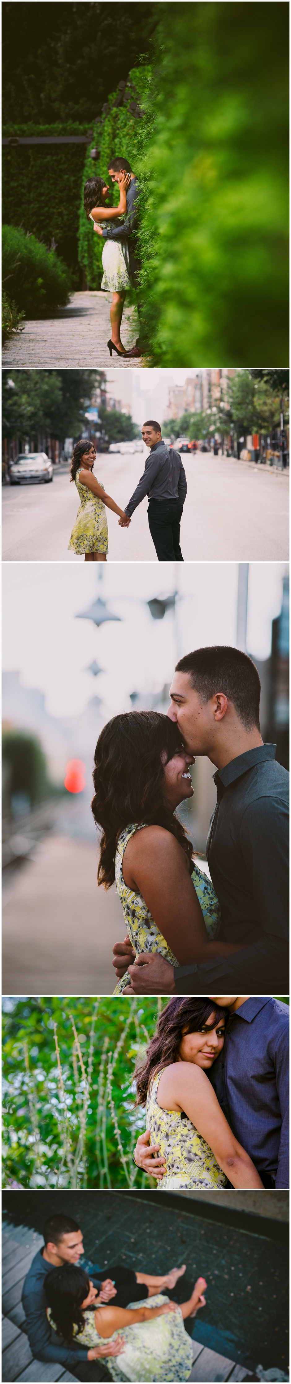Chicago Engagement Photography: Laurie & Mike
