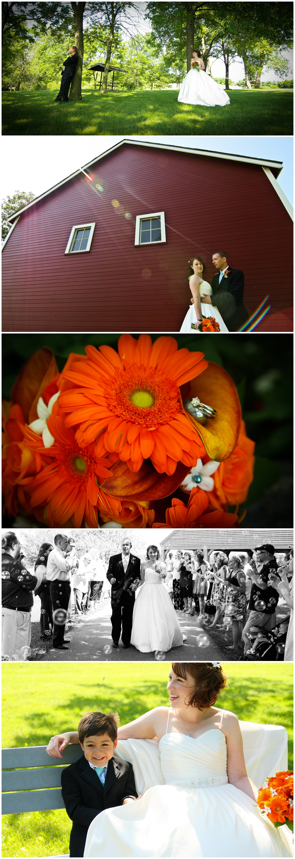 Chicago Wedding Photography: Andrew and Emily's Iowa Wedding